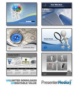 Download free PowerPoint backgrounds and templates - Brainy Betty | Marshall Web | Scoop.it