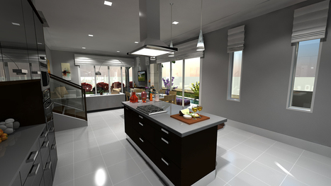 3D Kitchen Architecture Modeling & Rendering Project Samples | Architecture Engineering & Construction | Scoop.it