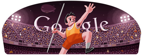 Londra 2012, il Lancio del Giavellotto nel doodle di Google | InTime - Social Media Magazine | Scoop.it