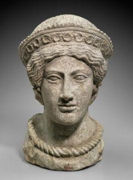 Terra cotta head of Etruscan beauty | Roma Antiqua | Scoop.it