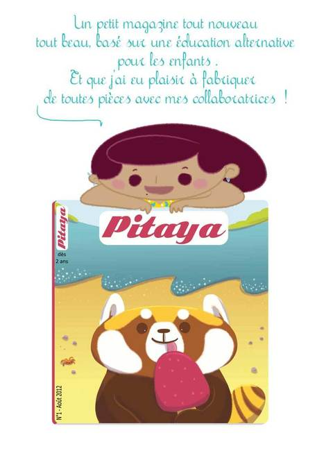 Magazine alternatif en ligne gratuit Pitaya | Parent Autrement à Tahiti | Scoop.it
