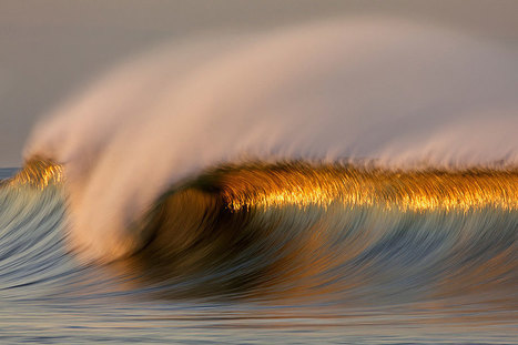 Long Exposure Photos of Golden Waves by David Orias | Inspired By Design | Scoop.it