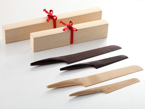 Fusion Kitchen Knives by Andrea Ponti » Yanko Design | L'Etablisienne, un atelier pour créer, fabriquer, rénover, personnaliser... | Scoop.it