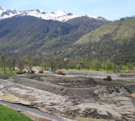 Loudenvielle. Le lac curé après les crues | Vallée d'Aure - Pyrénées | Scoop.it