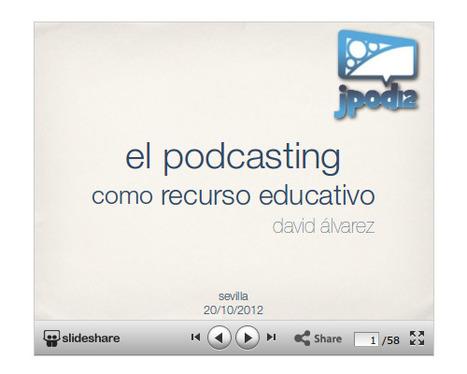 El podcast como recurso educativo: experiencias | Educación tecnológica | RIATE | Scoop.it