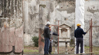 Restoration starts at crumbling ancient city of Pompeii | Archaeology News | Scoop.it