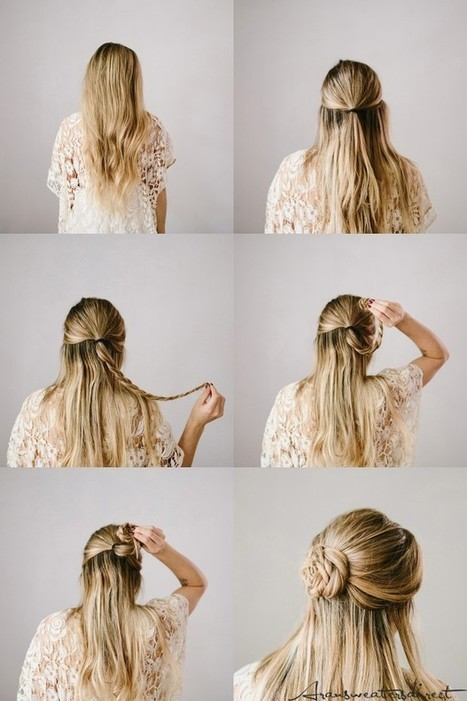 5 Super-Easy Hairstyles for For Busy Mornings | Hairstyle Tutorials | Scoop.it