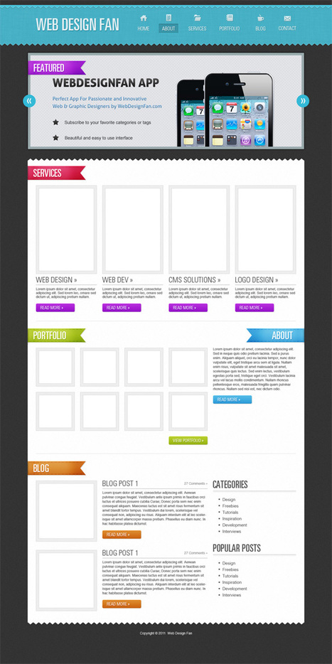 25 Excellent Photoshop Web Design Layout Tutorials | Time to Learn | Scoop.it