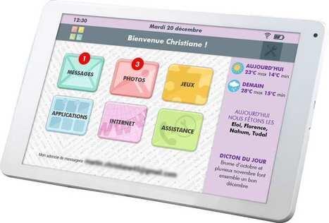 Comment CDIP a créé Facilotab, la première tablette pour seniors | Seniors | Scoop.it