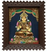Anna Poorneshwari Paintings   Indian Painting online   Scoop.it