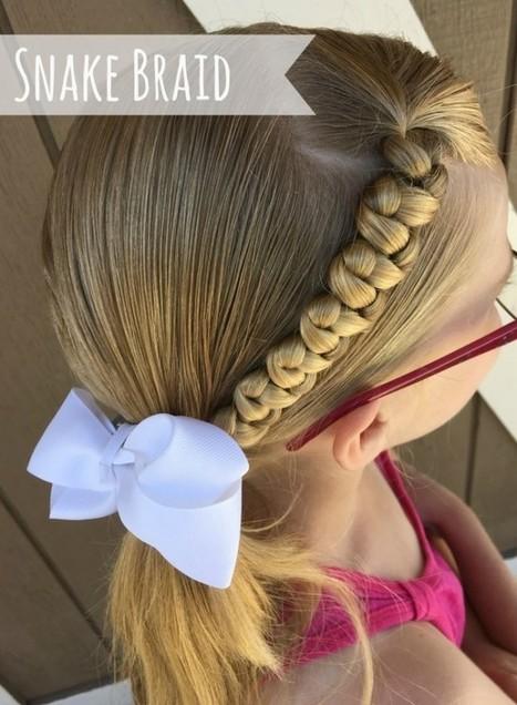Quick and Easy Snake Braid Hair Tutorial | Bazaar | Scoop.it
