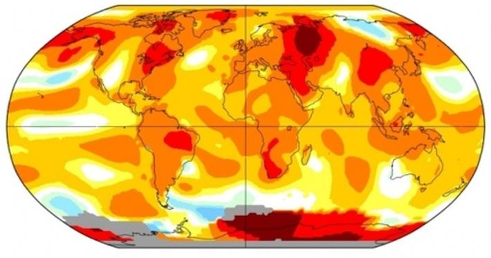 August Ties July as Hottest Month Ever on Record | Océan et climat, un équilibre nécessaire | Scoop.it
