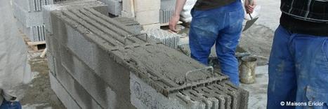 Les blocs béton en pierre ponce, isolants et résistants – ETI Construction | Conseil construction de maison | Scoop.it