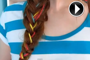 ¡Hazte una trenza de colores! | Revista POR TI | Scoop.it