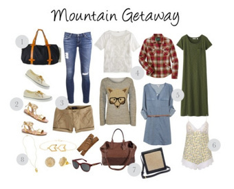 The Weekend Getaway: What To Pack | Chic Travel Style | Scoop.it