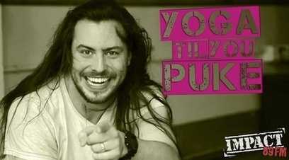 Not your usual Yoga routine, but so fun! Andrew W.K.'s 'Yoga Til You Puke' | Yoga Invader ENGLISH | Scoop.it