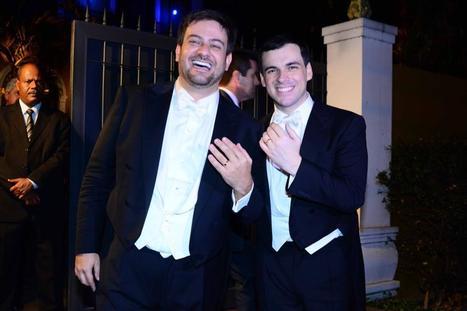 Famosos vão ao casamento de Jornalista gay Bruno Astuto - A Liga Gay | Brasil-News | Scoop.it
