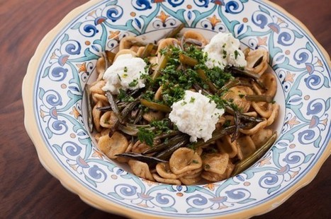Orecchiette with Garlic Scapes, Ricotta, and Gremolata – Recipe | Vegetarianism | Scoop.it