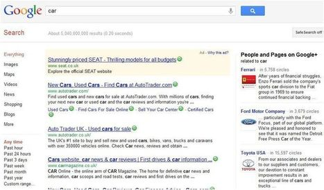 Phil Bradley's weblog: Why Google Search Plus is a disaster for search | Google+ and Social Networking | Scoop.it