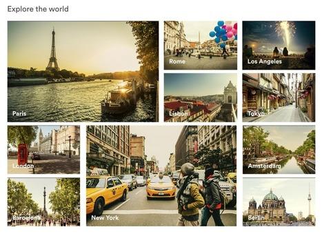 Airbnb met en avant l'expérience proposée par les destinations et locations sur sa nouvelle page d'accueil | Etourisme et social média | Scoop.it