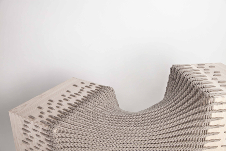 Hybrid textile furniture by Kata Monus | BRABBU Design Forces | | Computational Design | Scoop.it