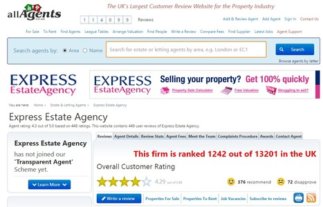 Express Estate Agency - Estate Agents & Letting Agents Reviews | Business | Scoop.it