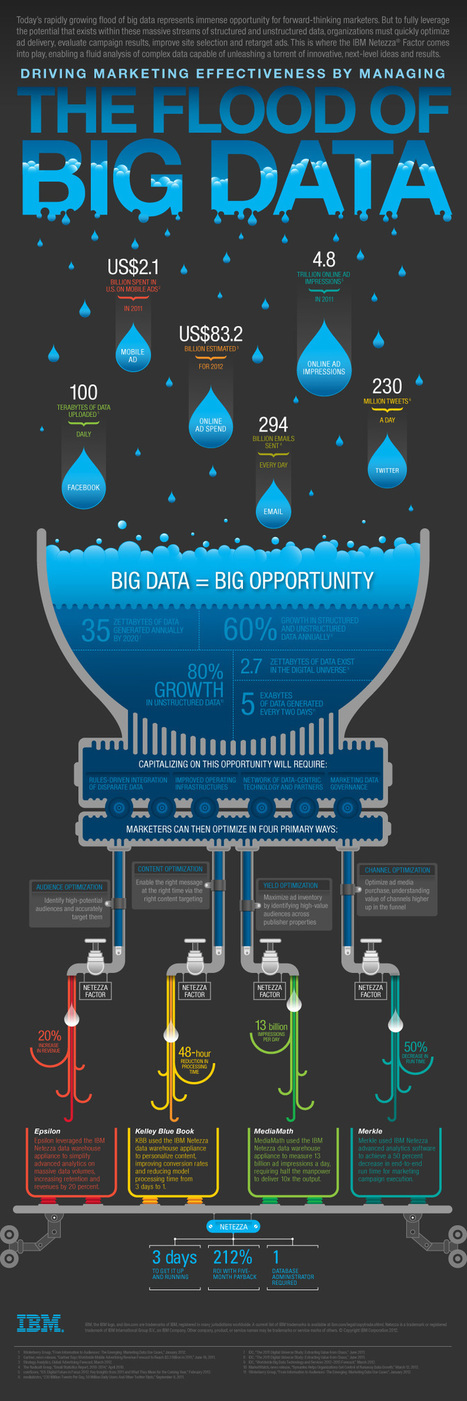 Infographic: Big Data Brings Marketing Big Numbers - Marketing Technology Blog | Trend | Scoop.it