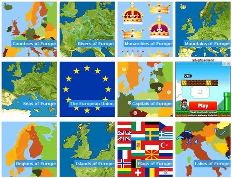 Geography of Europe Games | Geography Education | Scoop.it