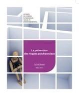Sylvie BRUNET, rapporteure sur la Prévention des risques psychosociaux au CESE le 14 mai | Santé au travail et prévention active | Scoop.it