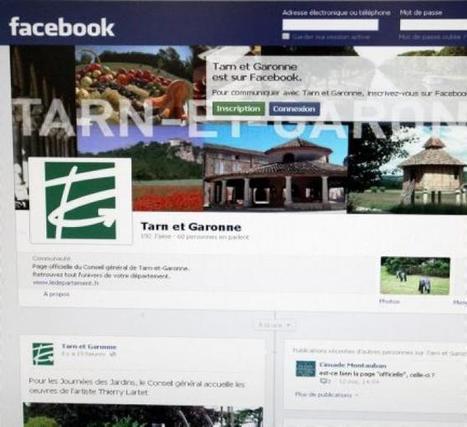 Le Département sur les réseaux sociaux | E-Réputation | Scoop.it