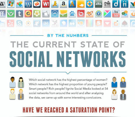 The Current State Of Social Networks - | Calling All Lecturers | Scoop.it