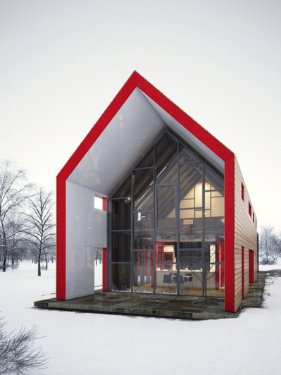 Material Interrogation: Sliding House | Today's Modern Architects and Architecture | Scoop.it
