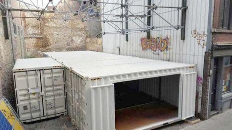 Today in Liege - La première habitation belge en containers visible à Liège | Post-Sapiens, les êtres technologiques | Scoop.it