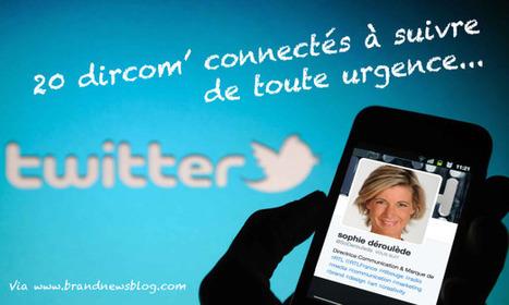 20 dircom' connectés à suivre sur Twitter... et ailleurs I Hervé Monier | Entretiens Professionnels | Scoop.it