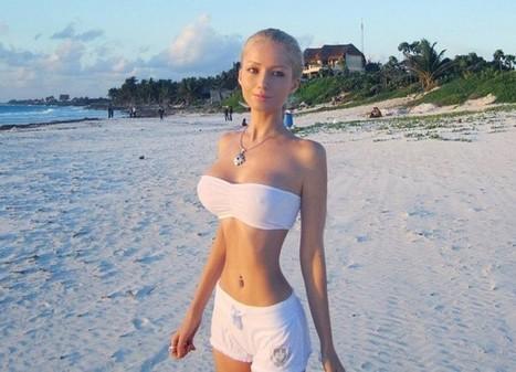 Valeria Lukyanova Une Poupée Barbie en Vrai | Series-vostfr | Scoop.it