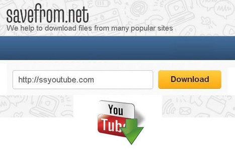 An easy way to Download Videos from Social Medias | Technology Information | Scoop.it