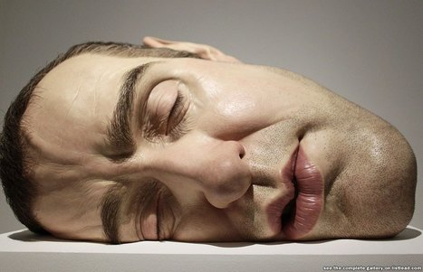 The Hyperrealistic Sculptures Of Ron Mueck | crazy news articles | Scoop.it