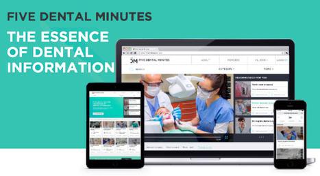 5Dental Minutes: la piattaforma di video sharing per dentisti | seeweb | Scoop.it