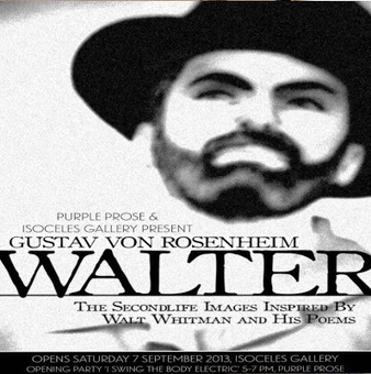 Art Exhibit on Celebrated LGBT Poet Walt Whitman Opening Today At the Isoceles Gallery | Culture and Fun - Art | Scoop.it