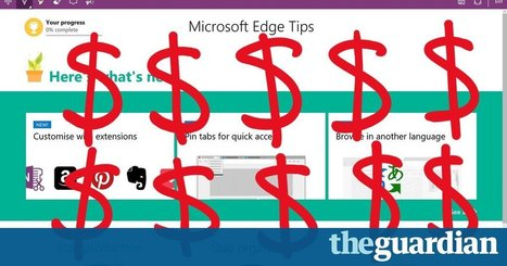 Microsoft wants to pay you to use its Windows 10 browser Edge | News Through Tech ( or is it Tech through News?) | Scoop.it