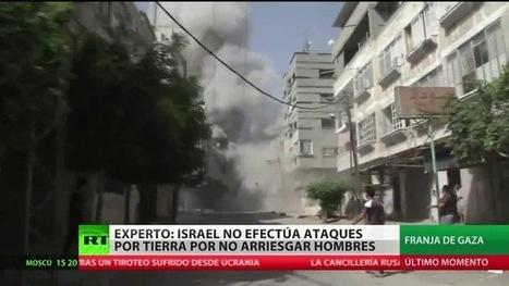 Fotos: Los ataques de Israel convierten Gaza en una ciudad fantasma | @AraujoFredy | Scoop.it