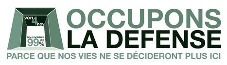 Video Les indignés délogés à la Défense par les CRS - BFMTV | Occupy the World | Scoop.it