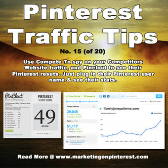 Pinterest Monitoring & Analysis Tool – Pinclout! | Social media culture | Scoop.it