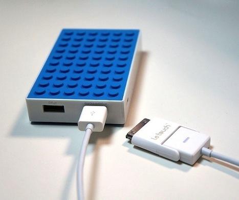 Promo accessoire de la semaine : 50% de réduc sur batterie Externe Dual USB Lego 4000mAh pour smartphones et tablettes | lego | Scoop.it