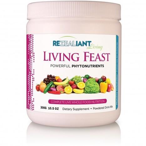 Rezealiant Living - Living Feast 300 grams jar 10.5 oz, Whole Food Supplement - Free Shipping - : Speedy Health Supplements | Health Supplements in the News | Scoop.it