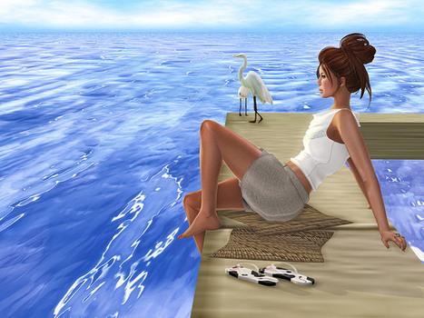 Free Water Normal Maps by Trompe Loeil - StrawberrySingh.com | Finding SL Freebies | Scoop.it