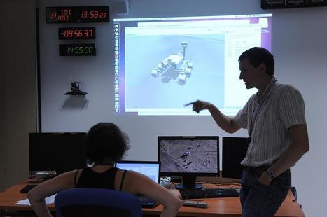 Un jour avec… l'équipe de Curiosity | Actualité des laboratoires du CNRS en Midi-Pyrénées | Scoop.it