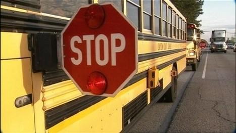 School Bus Stops:  Danger Zones | Kickin' Kickers | Scoop.it