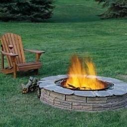 33 DIY Fire Pit Ideas | DIY Cozy Home | Landscape Design DIY, Tips, and Best Practices | Scoop.it