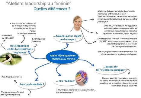 NOUVEAU CYCLE : LEADERSHIP AU FEMININ   Cité du Management   Scoop.it
